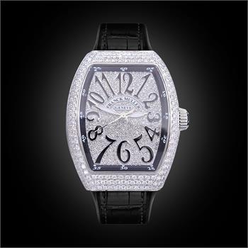 Đồng Hồ Franck Muller Vanguard Lady V32 Full Diamonds