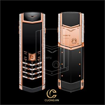 Vertu Signature S Rose Gold Diamonds