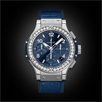 Đồng Hồ Hublot BigBang 41mm Steel Blue Diamonds
