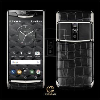 Vertu Signature Touch Pure Jet Alligator