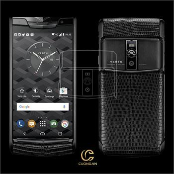 Vertu New Signature Touch Pure Jet Lizard mới 100%