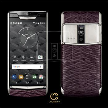 Vertu New Signature Touch Grape Lizard mới 100%
