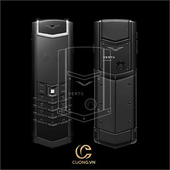 Vertu Signature S Pure Black Diamonds