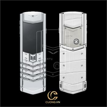 Vertu Signature S Pure White Alligator