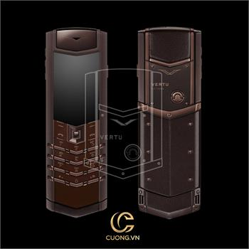 Vertu Signature S Pure Chocolate Stainless Steel mới 100%