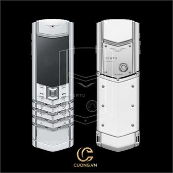 Vertu Signature S Pure White