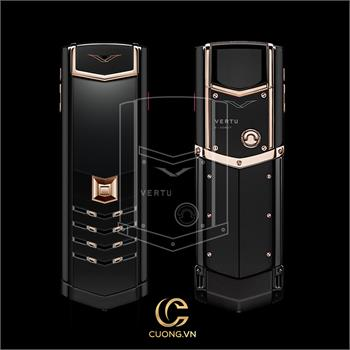 Vertu Signature S Red Gold Ultimate Black